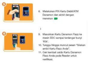 top up flazz BCA via mobile banking
